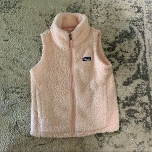 Girls Patagonia vest, size small, 7-8.